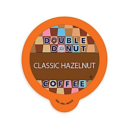 Double Donut Coffee™ Hazelnut Coffee Pods for Single Serve Coffee Makers 80-Count