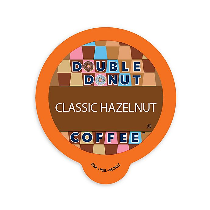 Alternate image 1 for Double Donut Coffee™ Hazelnut Coffee Pods for Single Serve Coffee Makers 80-Count