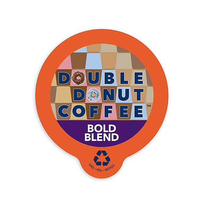 Alternate image 1 for Double Donut Coffee™ Bold Blend Coffee Pods for Single Serve Coffee Makers 80-Count
