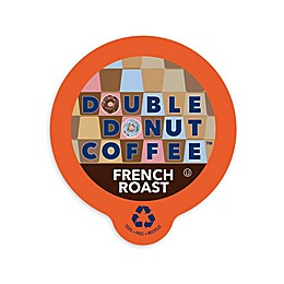 Double Donut Coffee™ French Roast Coffee Pods for Single Serve Coffee Makers 80-Count