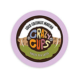 22-Count Crazy Cups® Coconut Matcha Tea Latte for Single Serve Coffee Makers