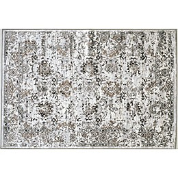 Verona Patina 3'3 x 4'7 Accent Rug in Grey/Ivory