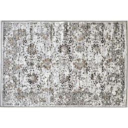 Verona Patina 3'3 x 4'7 Accent Rug in Grey/Ivory