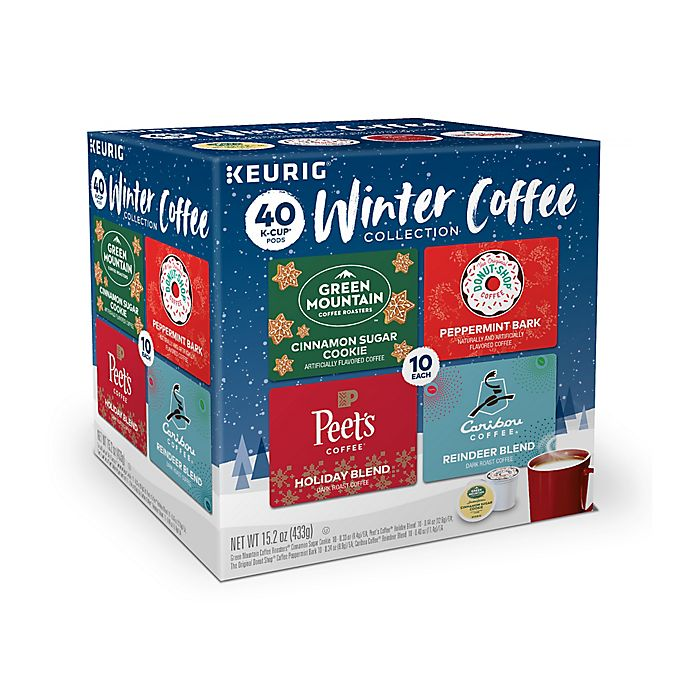 Alternate image 1 for Keurig® Winter Coffee Variety Pack K-Cup® Pods 40-Count