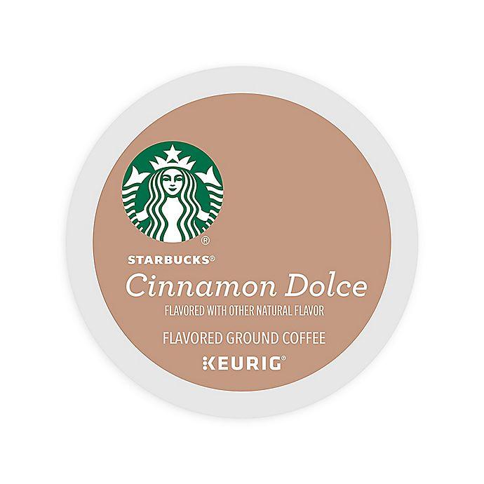 Alternate image 1 for Keurig® K-Cup® Pack 16-Count Starbucks® Cinnamon Dolce Coffee