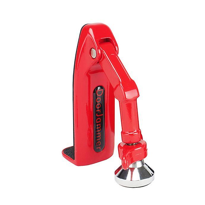 Alternate image 1 for Aluratek DoorJammer Portable Door Lock Brace in Red