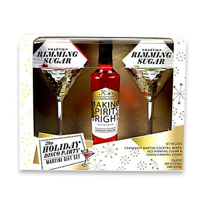 The Holiday Disco Party Martini Gift Set