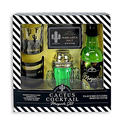 Cactus Cocktail Margarita Gift Set