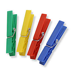 Honey-Can-Do® Plastic Spring Clothespins