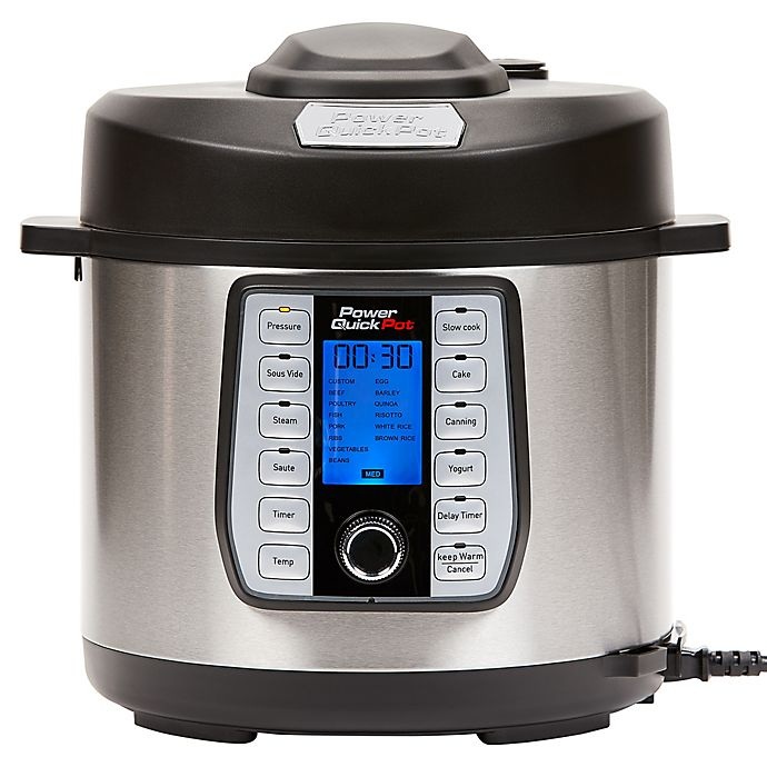 Alternate image 1 for Power Quick Pot™ Electric Pressure Cooker