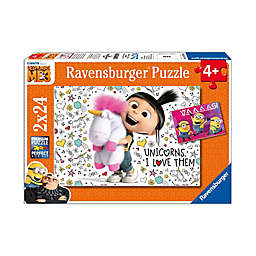 Ravensburger Despicable Me 3 24-Piece Agnes and the Minions 2-Pack Jigsaw Puzzles
