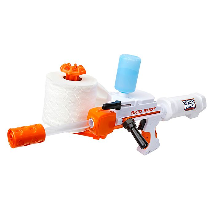 Alternate image 1 for Toilet Paper Blaster Skid Shot