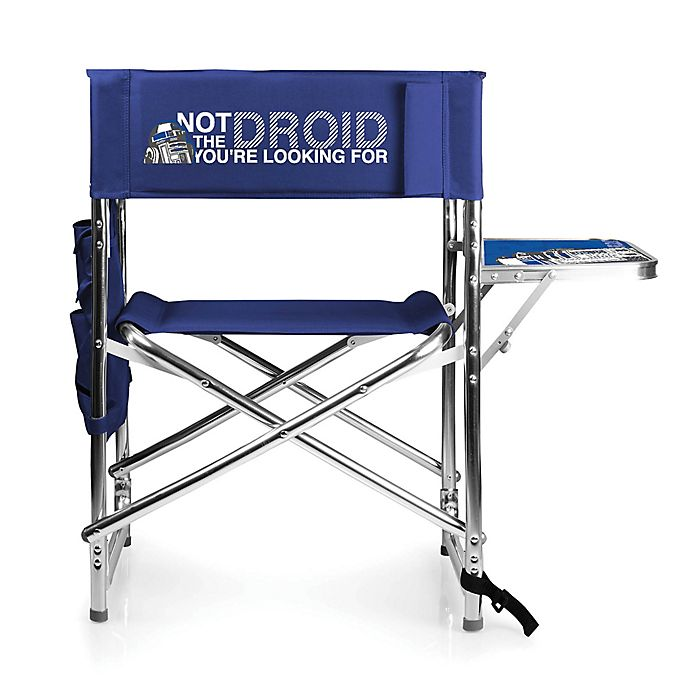 Alternate image 1 for Star Wars™ Folding Sports Chair in Navy Blue