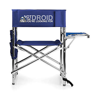 Star Wars™ Folding Sports Chair in Navy Blue