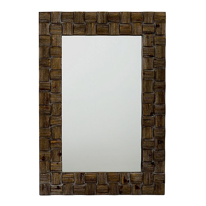 Alternate image 1 for Jamie Young Dawson 26-Inch x 38-Inch Wood Wall Mirror