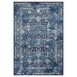 KAS Marrakesh 2'7 x 4'11 Accent Rug in Azure