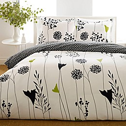 Perry Ellis® Asian Lily Reversible Duvet Cover Set