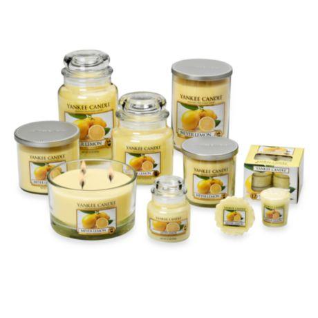 Yankee Candles Meyer Lemon Large Jar Candle,Fresh Scent