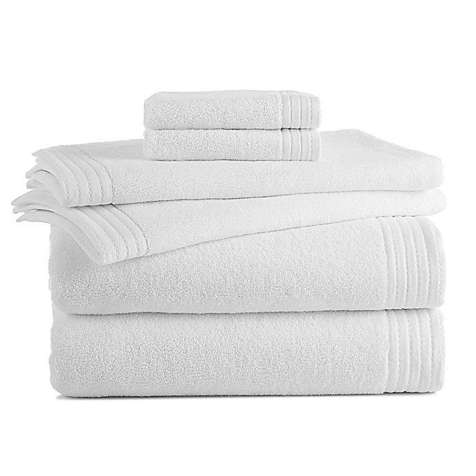 Alternate image 1 for Grand Patrician 6-Piece Turkish Bath Towel Set