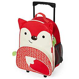 Skip Hop Zoo Fox Children's 16-Inch Rolling Upright Suitcase
