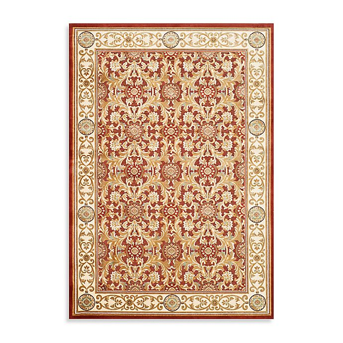 Alternate image 1 for Safavieh Acanthus Scroll 3'3 x 4'9 Accent Rug in Red