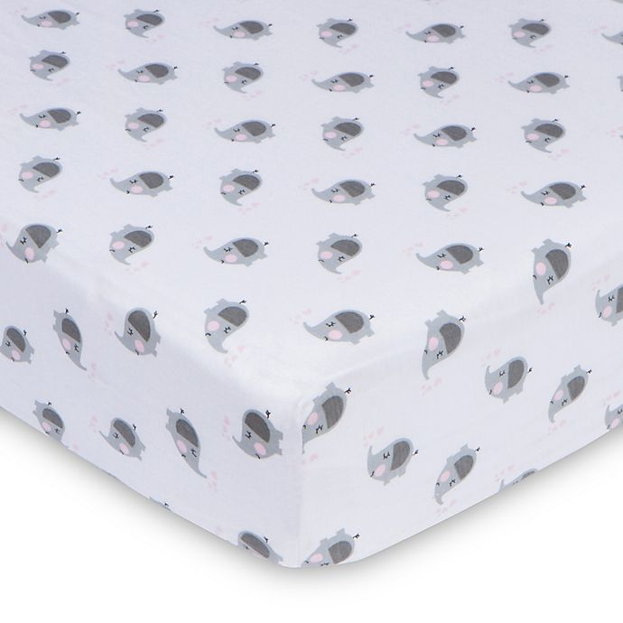Alternate image 1 for Gerber® Fitted Jersey Crib Sheet