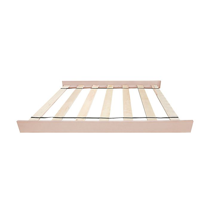 Alternate image 1 for Baby Appleseed® Park Avenue Full-Size Bed Rails in Almond