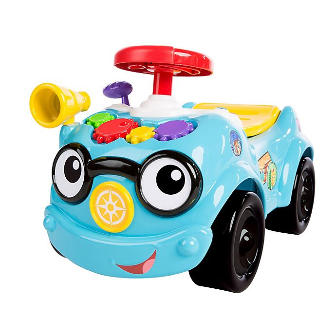 Alternate image 1 for Baby Einstein™ Roadtripper 2-in-1 Ride-On Car