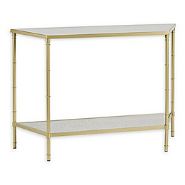 Madison Park Signature Lauren Console Table in Antique Gold