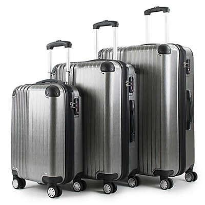 American Green Travel Melrose 3-Piece Luggage Set