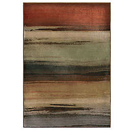 Orian Washout 2'7 x 3'9 Multicolor Accent Rug
