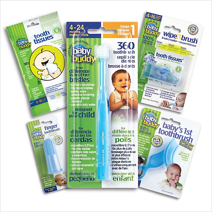 Alternate image 1 for Baby Buddy Stage 1-5 Oral Care Kit