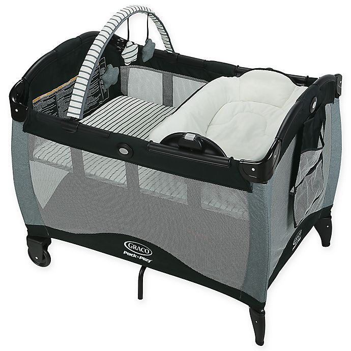 Alternate image 1 for Graco® Pack 'n Play® Reversible Napper and Changer Playard LX in Holt Grey