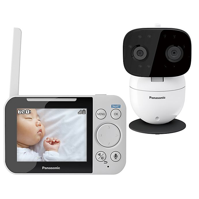 Alternate image 1 for Panasonic KX-HN3001W Long Range Baby Monitor