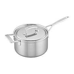 Demeyere Industry Stainless Steel Covered Saucepan