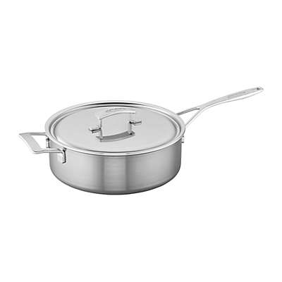 Demeyere Industry Stainless Steel Covered Saute Pan