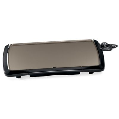 Presto 174 Cool Touch 20 Inch Ceramic Electric Griddle Bed