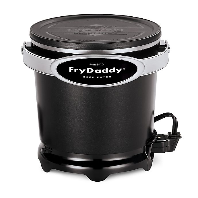 Alternate image 1 for Presto® FryDaddy® Plus 4-Cup Deep Fryer in Black