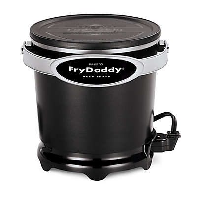Presto® FryDaddy® Plus 4-Cup Deep Fryer in Black