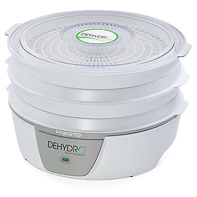 Presto® Dehydro™ Electric Food Dehydrator with 4 Drying Trays in White
