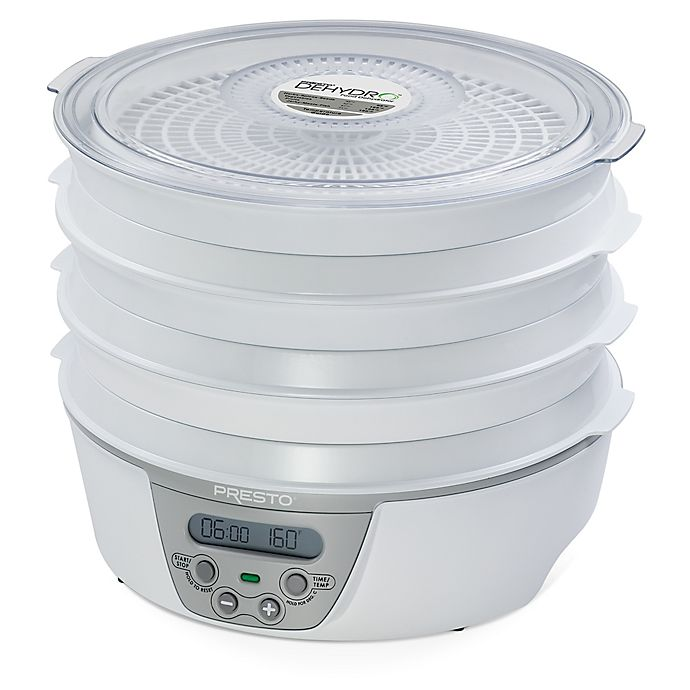 Presto 174 Dehydro Deluxe Electric Food Dehydrator With 6