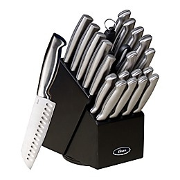 Oster® Baldwyn 22-Piece Knife Block Set in Black