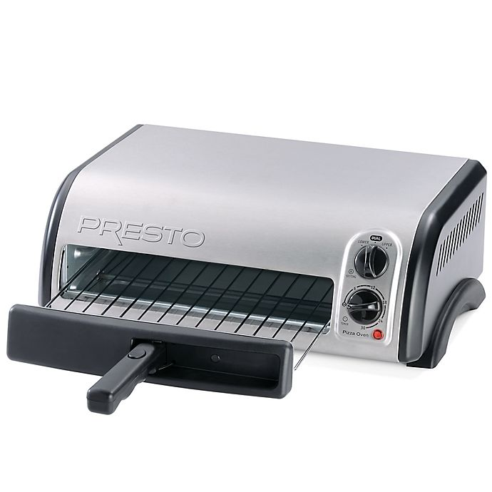 Alternate image 1 for Presto® 12-Inch Stainless Steel Pizza Oven