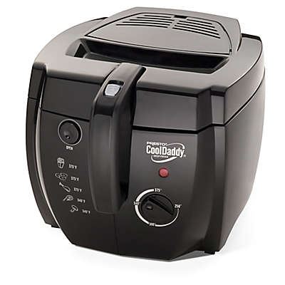 Presto® Cool Daddy 6-Cup Electric Deep Fryer