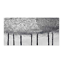 Silver Trees 60-Inch x 30-Inch Canvas Wall Art