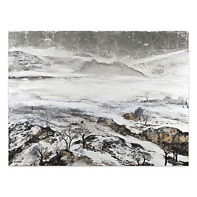 Misty Mountains 36-Inch x 48-Inch Canvas Wall Art