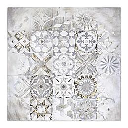 Mosaic 30-Inch Square Canvas Wall Art