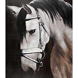 Gallant Steed 36-Inch x 48-Inch Canvas Wall Art