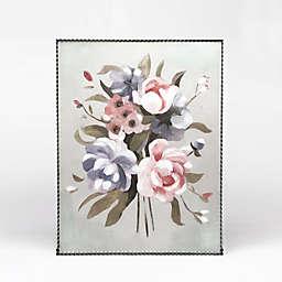 Corrugated Flower 16-Inch x 20-Inch Metal Edge Wall Art