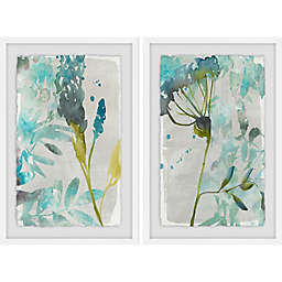 Marmont Hill Flower Layers Diptych Framed Wall Art (Set of 2)